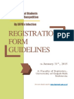 Form Registration Dhinintya Dan Mufidana DSRC FKG UGM 2014