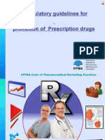 Ethical promotion of prescription drugs - Guidelines