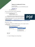 Manual Actualizacion WS Tacton