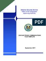 Electronic Communication Plan