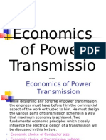 Economics of Power Transmission