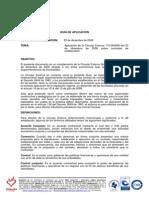 Guia de Aplicación Circular Externa 115-06-2009