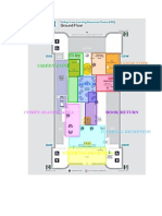 Colour Coded LRC Floor Plan