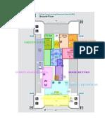 Colour Coded LRC Floor Plan