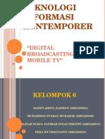 PPT KLPK 6 Digital Broadcasting for Mobile Tv