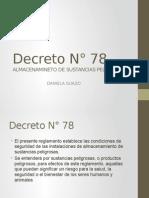 Decreto N° 78