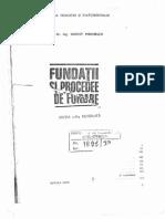 Fundatii Si Procedee de Fundare_Manoliu
