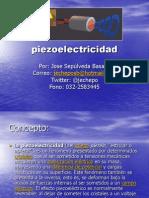 Piezoelectricidad  2014