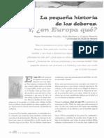 CEAPA_REVISTA72_LOS DEBERES EN EUROPA