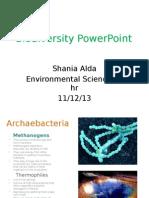 biodiversity powerpoint