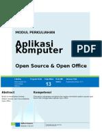 Modul 13 Open Source Open_Office-Aplikom-Rushendra