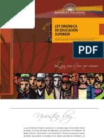 Ecuador - Ley de Educacion Superior