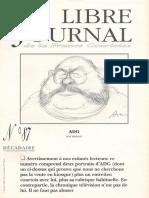 Libre Journal de la France Courtoise N°087