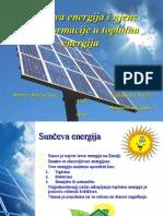 Sunceva Energija i Njene Transformacije u Toplotnu Energiju 2003
