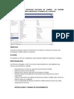 Procedimiento Digitacion Facturas Compra