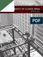 University of Illinois Press Spring 2013 Catalog