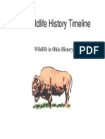Wildlife Ohio History Timeline