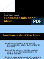 Jan 14_Fundamentals of an Atom