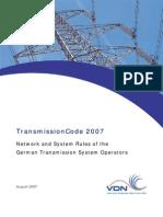 Transmissioncode 2007 Engl