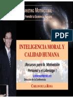 1Inteligencia Moral y Calidad Humana - Carlos de La Rosa