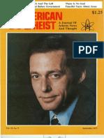 American Atheist Magazine Sep 1977
