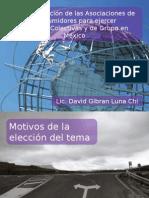 La legitimación de las asociaciones de consumidores para ejercer acciones colectivas y de grupo en México.