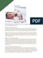 Tujuh Fakta Bayi Baru Lahir