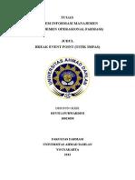 Break Event Point sistem informasi manajemen farmasi