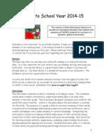 parent info packet 14-15