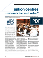 Real Value of convention centre