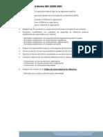Por Qué Usar La Norma ISO 220002005