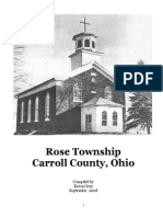 Rose Township Carroll County, Ohio