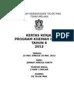 KKERJA KHEMAH IBADAH 2012.doc