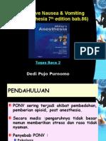 Presentasi Tugas Baca 2 PONV
