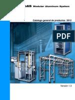 Catalogo Perfiles de Aluminio Nov 2012