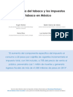 Mexico Annex2 Economy of Tobacco and Taxes in Mexico
