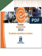 FOLLETO Censos Económicos