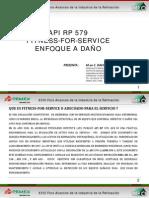 API RP 579 FITNESS FOR SERVICE - ENFOQUE A DAÑO