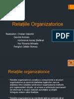 Relatii organizatorice