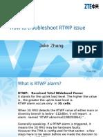198063542 Troubleshoot RTWP Issue