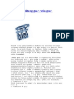 Cara Menghitung Gear Ratio Gear Transmisi