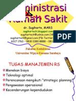 Administrasi RS 2012