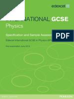 nternational GCSE in Physics past paper