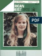 American Atheist Magazine Feb 1978