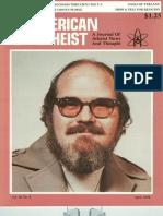 American Atheist Magazine April 1978