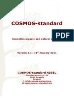 COSMOS-standard v1.1 310111
