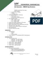 Especificaciones MAGNUM MMG55