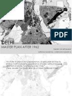 Delhi Master Plan 1962 Analysis