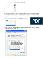 Cara Mengatasi Folder Acces is Denied