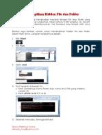 Menampilkan Hidden File Dan Folder